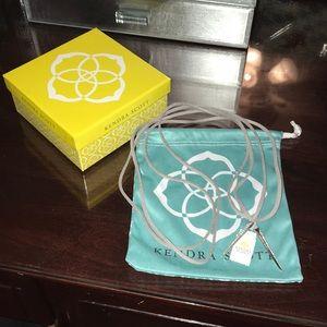 Kendra Scott Pierce Bolo Wrap Necklace NWT